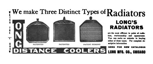 long distance coolers ad 1910