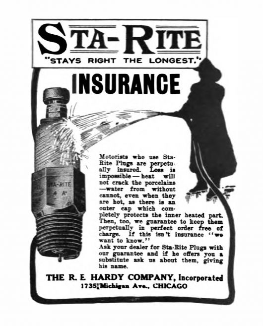 re hardy ad 1910