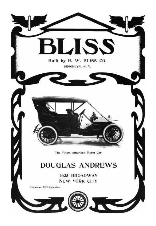 bliss ad 1906