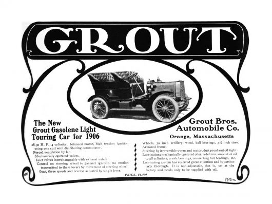 grout ad 06