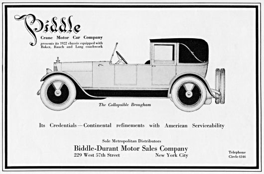 biddle collapsible brougham ad 22