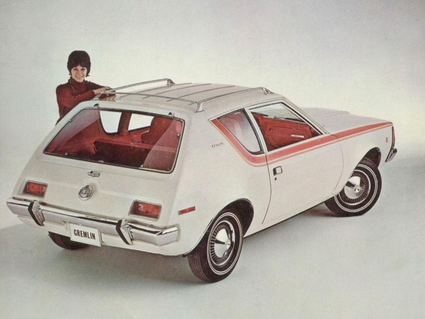 1970 Gremlin, from a February 12, 1970 AMC press release.