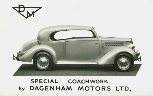 dagenham 1936 ford v 8 d.m. special vogue coupe