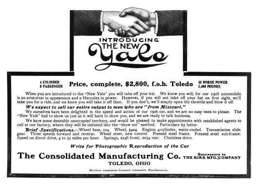 consolidated yale ad 05