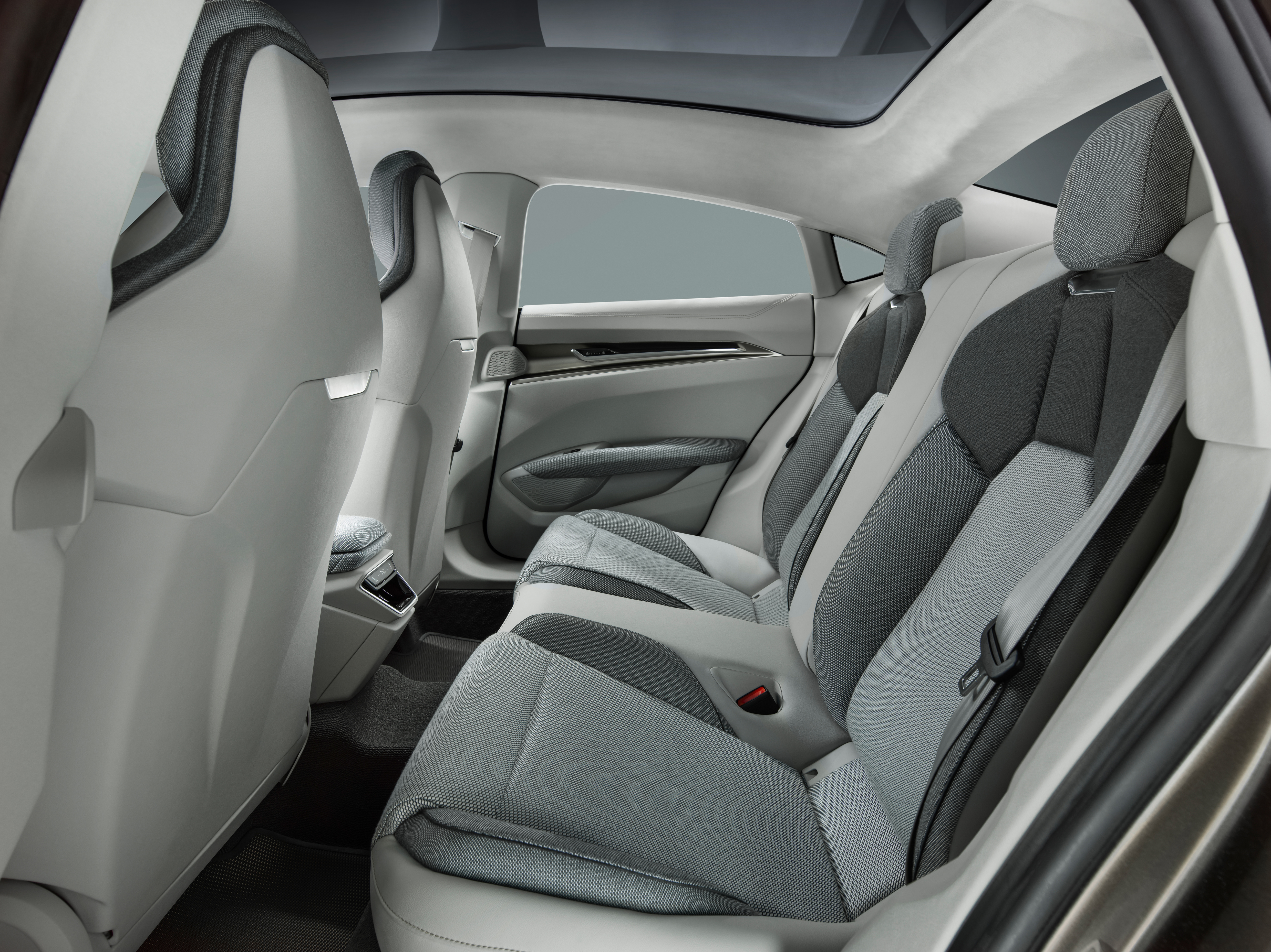 URBAN BLACK /& GREY FAUX LEATHER SEAT COVER for VW T-ROC 17-ON