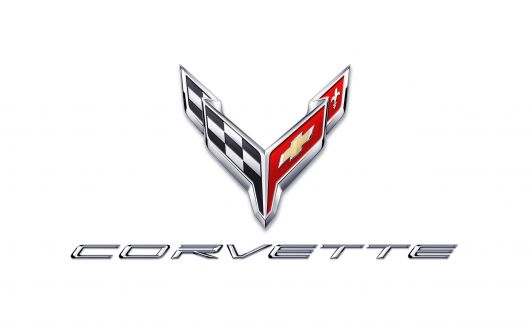 chevy corvette stingray 20 logo chrome