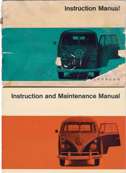 67 bus owners manuals