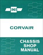 corvair shop manual 65