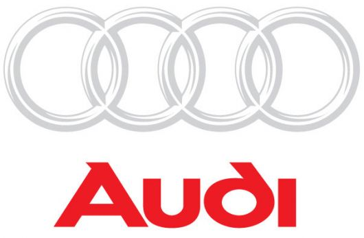 audi logo lined text 1