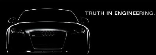 audi truth in enginerring banner