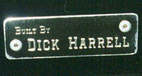 dick harrell glovebox