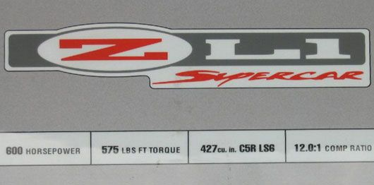 zl1 badge 2002