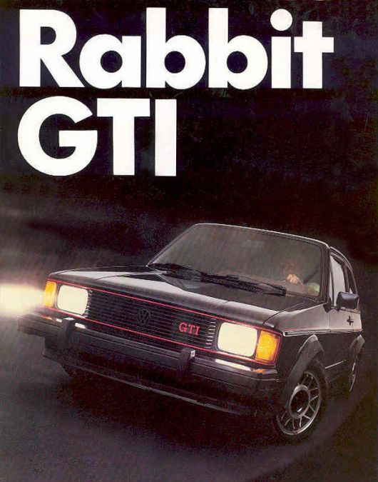 vw rabbit gti brochure 83