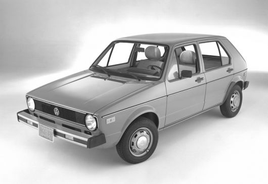 vw rabbit 77