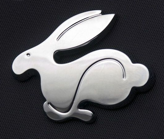 vw rabbit emblem
