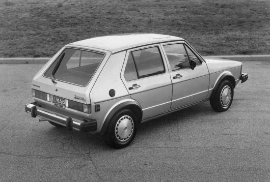 vw rabbit gl 83