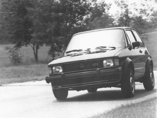 vw rabbit gti 83