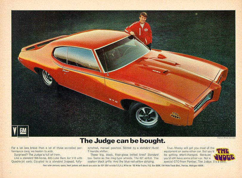 "1969 Pontiac GTO ""The Judge"