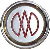 aston martin wheel badge
