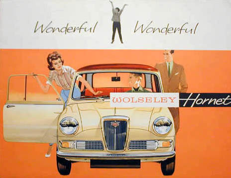 wolseley hornet brochure 63 64