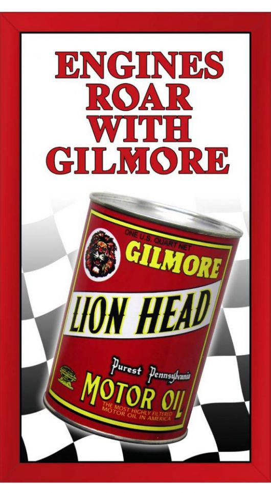 gilmore oil sign
