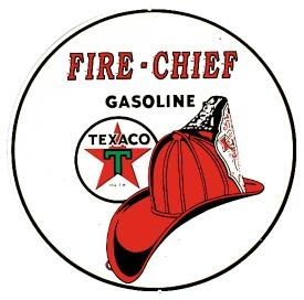 texaco firechief sign