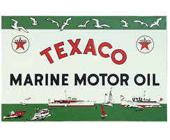 texaco marine oil