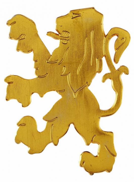 peugeot lion plaque 1968 78