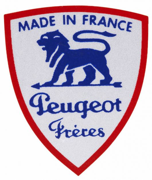 peugeot made in farnce plaque 1938 39