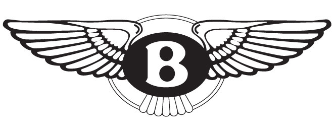 Bentley provides a perfect example of the winged solar-disk.