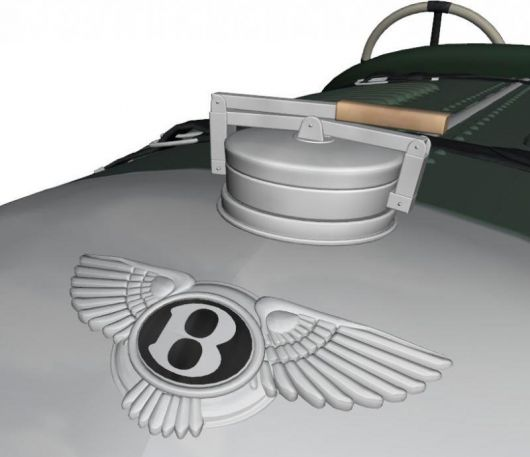 bentley old hood emblem