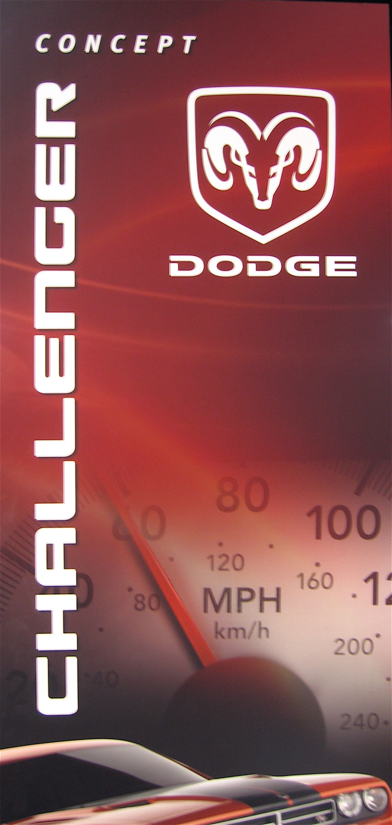 Dodge emblem, from the 2007