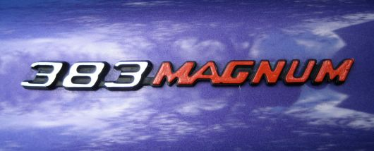 Dodge related emblems cartype 383 magnum emblem dodge challenger rt sm 70 publicscrutiny Image collections