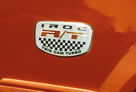 dodge daytona iroc rt emblem