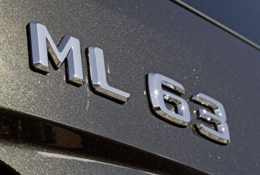 mercedes benz ml63 emblem