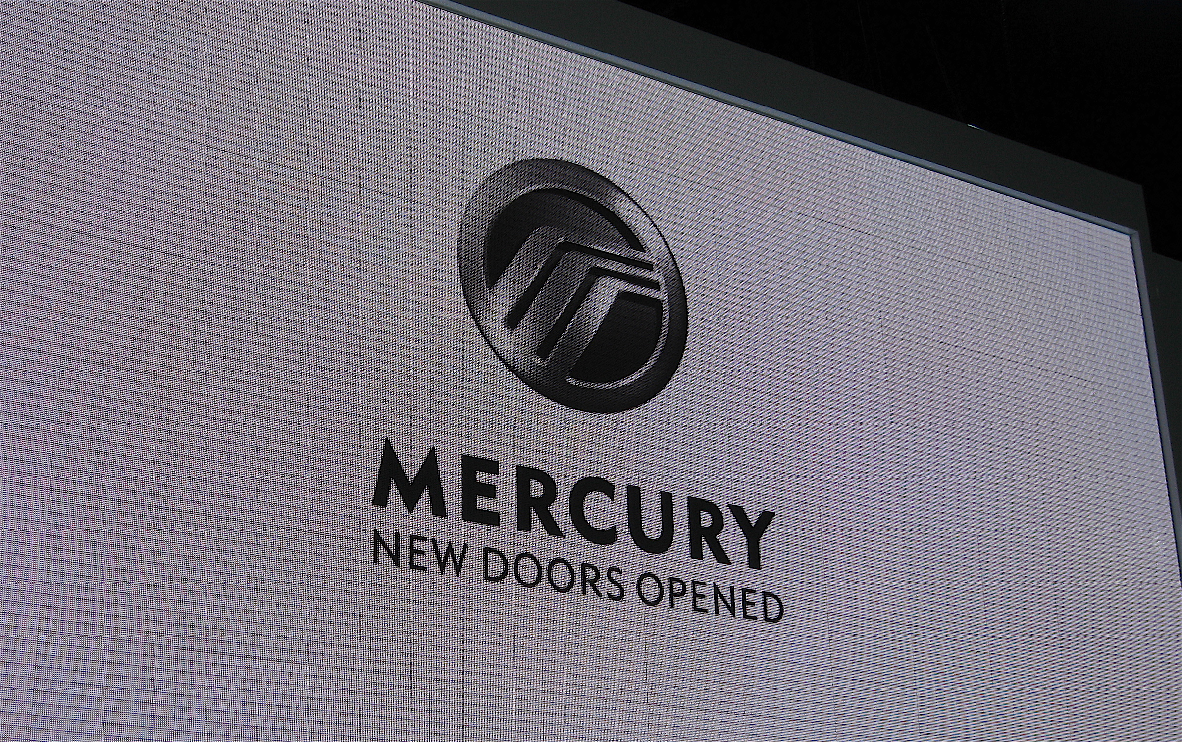 Mercury exhibit, as seen at