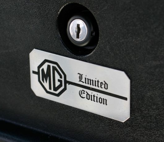 mg limited edition plaque mg mgb s 80