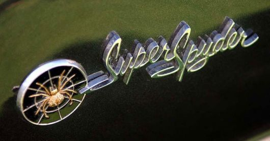 chevy corvair superspyder concept emblem 62