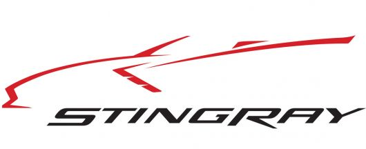 chevy corvette c7 stingray conv. logo 14