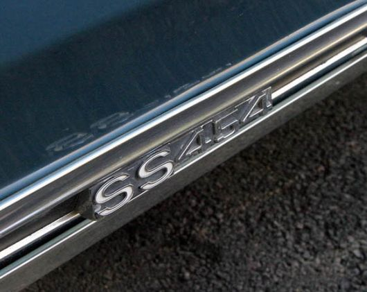 chevy monte carlo ss 454 emblem 70 3800made