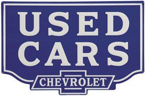 chevy used cars sign1