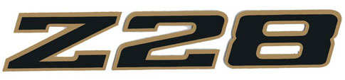 z28 nose decal 79