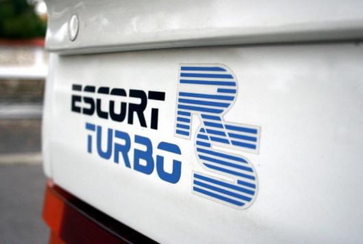 ford escort rs turbo decal