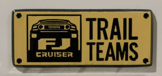 fj cruiser trail teams emblem toyota s 1