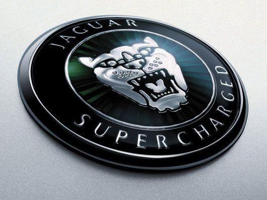 jaguar supercharged emblem