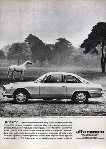 Alfa Romeo Coupe Ad on 1968 Alfa Romeo Spider