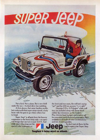 Amc Jeep Super Jeep