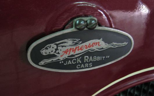 apperson jack rabbit cars emblem