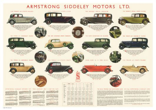 armstrong siddeley poster 1