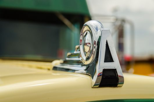 autocar hood ornament by flickr r gust smith